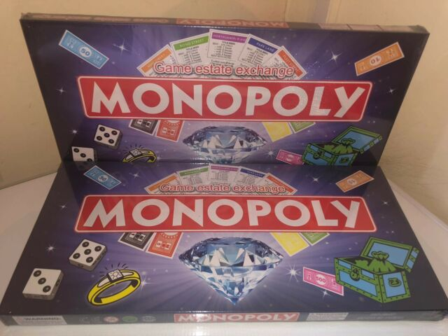 Monopoly Board Family Game Classic Traditional Trading Toy (China Made) Not Orig
