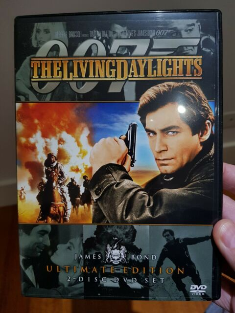 The Living Daylights (DVD, 2006, 2-Disc Set) ULTIMATE EDITION NEW R4 DVD
