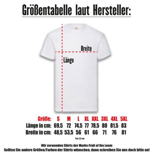 Jusqu/'à une hurlez Shirt T-shirt noir Funshirt Fête 100/% Cotton s-5xl