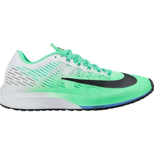 A la verdad Síntomas Enjuiciar  Womens Nike Air Zoom Elite 9 Electro Green Running Trainers 863770 300 for  sale online | eBay