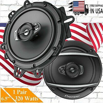 TS-A1680F Pair of Pioneer 6-1//2 6.5 4-Way 350 Watt Coaxial Car Audio Speakers 2 Speakers + Gravity Phone Magnet Holder
