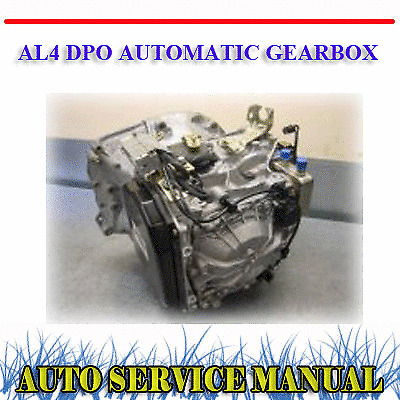 PEUGEOT CITROEN AL4 DPO AUTO GEARBOX TRANSMISSION WORKSHOP REPAIR /& PARTS MANUAL