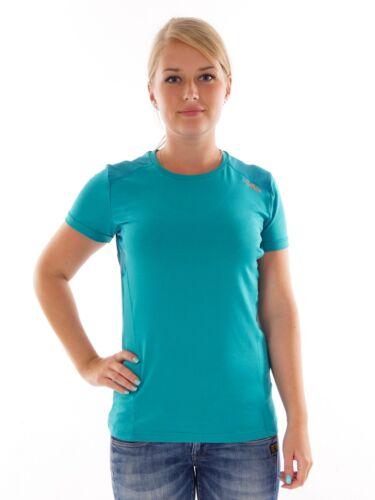 CMP Laufshirt Funktionsshirt Freizeitoberteil grün Stretch Dryfunction