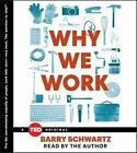 Why We Work by Dorwin Cartwright Professor of Social Theology and Social Action Theology Department Barry Schwartz (CD-Audio, 2015)