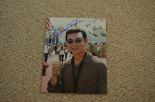 Don the Dragon wilson signed autógrafo en persona 20x25 cm Ring of Fire