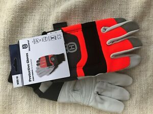 Husqvarna 579380210 Functional Saw Protection Gloves Large