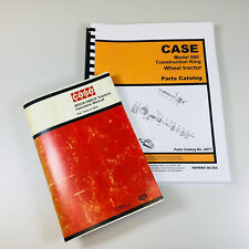 Case 580ck 580 Construction King Wheel Tractor Operators Manual Parts Catalog