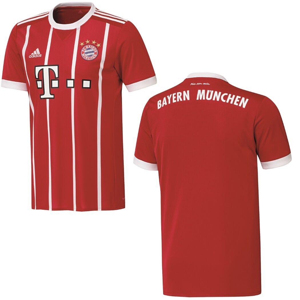 Adidas FC Bayern München Home Heimtrikot 2017 2018