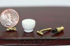 Dollhouse Miniature Men/'s Old Fashioned Shaving Set
