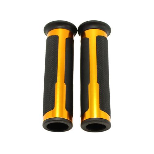 """Motorcycle 7//8/"""" Rubber Hand Grips For Suzuki GSX-R600//750//1000 GSR750 600 400 MP"""