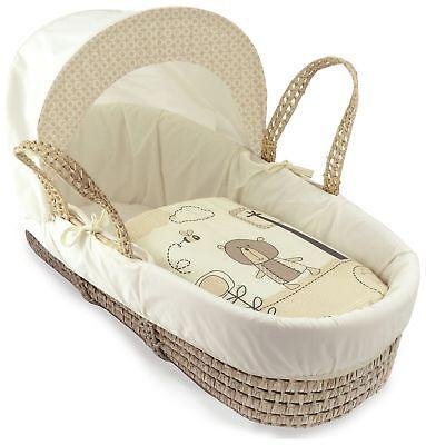 Kinder Valley Little Gem Curved Moses basket-p