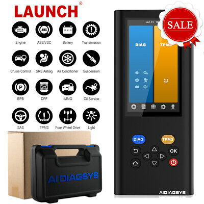 Launch X431 Automotive Obd Scanner Tpms Reset Tire Pressure Sensor
