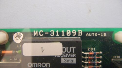 Tokyo Electron Limited MC-31109B Rev 1A Carrier Stage Carrier Status PCB Assy.