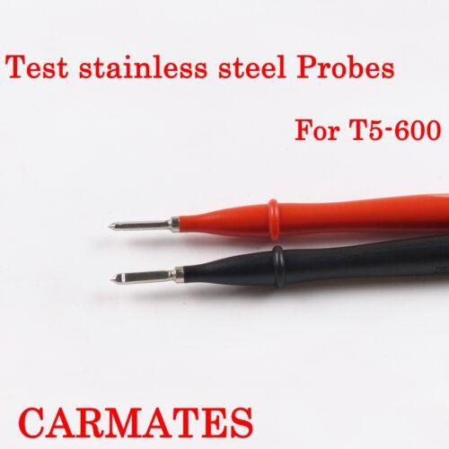 Slim Reach Test leads stainless steel TP1 Probes for Kyoritsu UNI-T multimeter