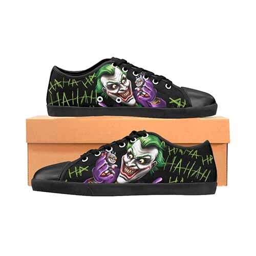 Joker Bat Bomb Batman Men's Canvas shoes DC