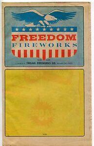 "1978 Vintage Sales Catalog Brochure: ""FREEDOM FIREWORKS"""