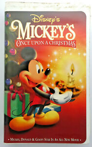 Mickey Mouse Once Upon A Christmas.Details About Mickey Mouse Once Upon A Dream Vhs Video Tape Walt Disney Video Premieres Ed