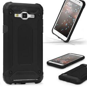 Samsung-Galaxy-j3-2015-Outdoor-Housse-de-protection-Top-Cover-Back-Case-Carbone-Optique