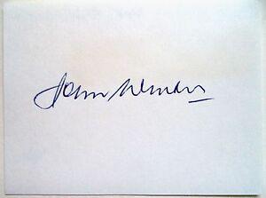 JOHN WINTER 1948 OLYMPIC HIGH JUMP GOLD MEDAL WINNER - ORIGINAL INK AUTOGRAPH