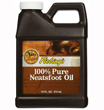 Fiebings Pure Neatsfoot Oil 473ml (16 oz) Natural Preservative for all Leather