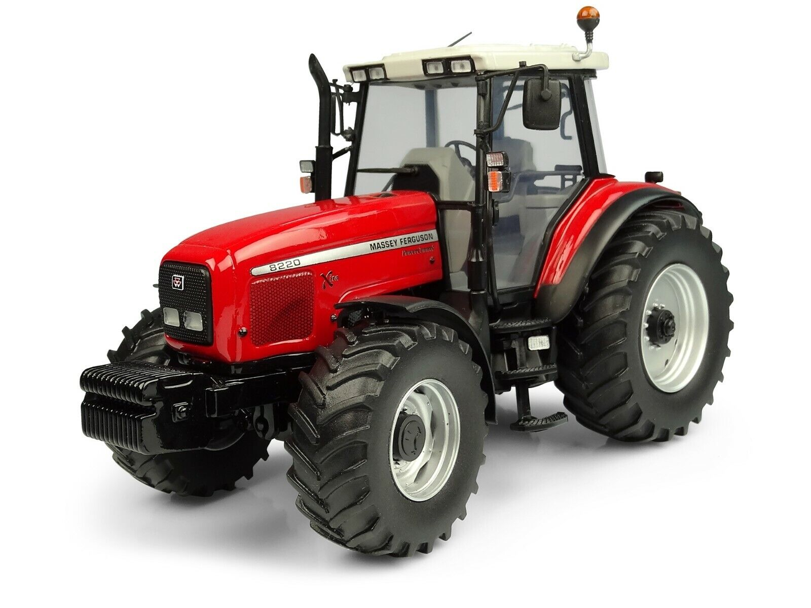 MASSEY FERGUSON 8220 XTRA TRACTOR 1 32 DIECAST MODEL BY UNIVERSAL HOBBIES UH5331