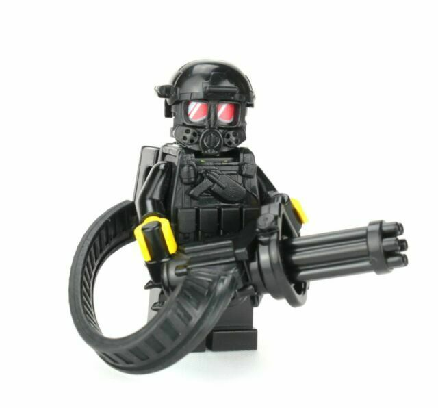 SKU47 Seal Team 6 Special Forces Custom Minifig Commando made with real LEGO®