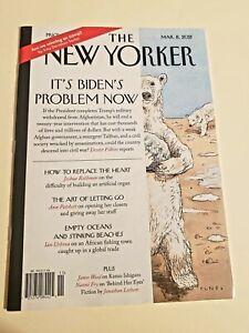 The New Yorker Magazine March 8 2021 The Polar Opposite bear