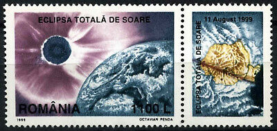 Romania 1999 SG#6050 Total Eclipse Of The Sun + Label #D54782