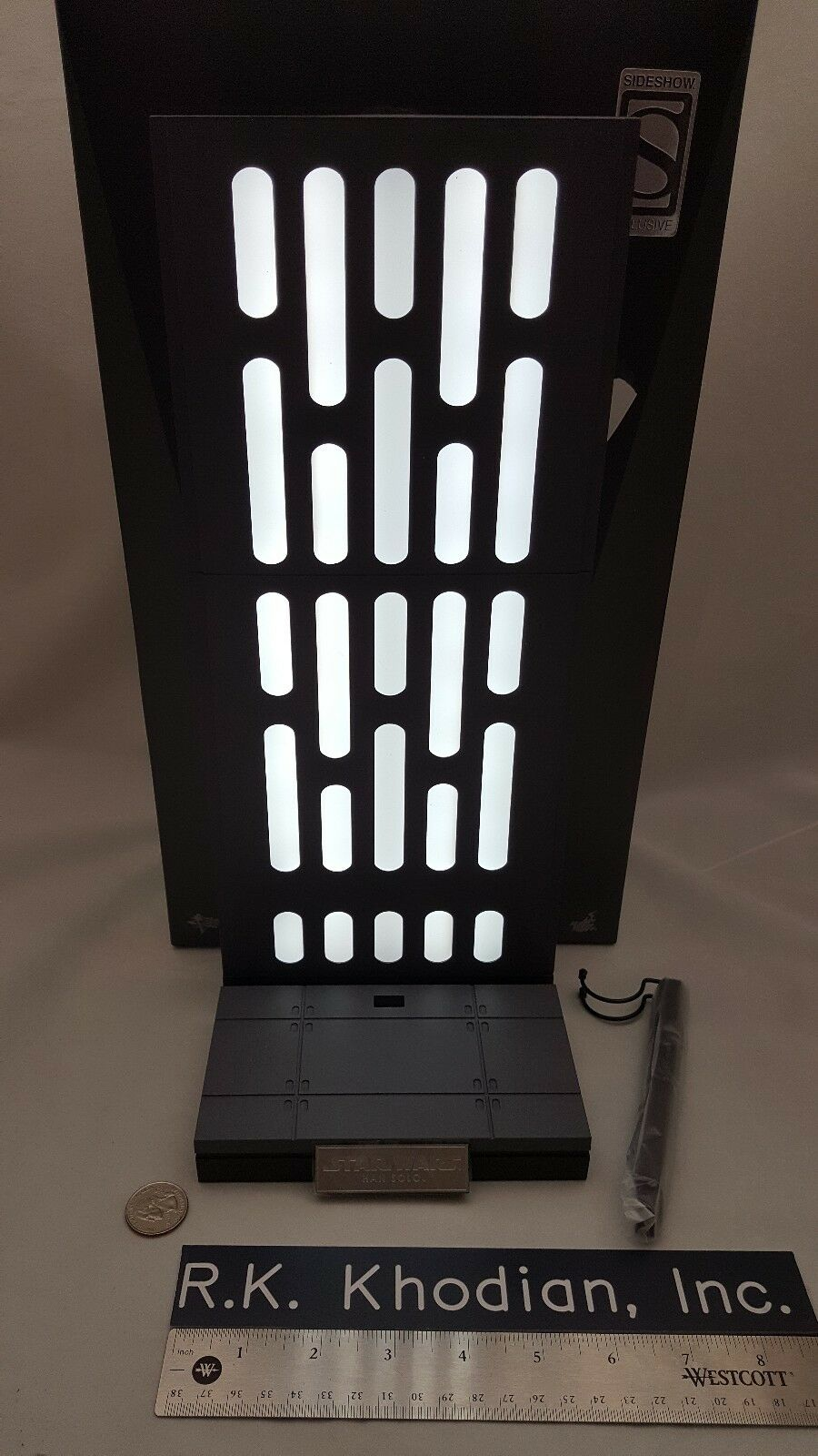 Hot toys 1/6 Star Wars Han Solo Stormtrooper figure's LED Base stand diorama