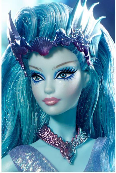 Muñeca Barbie Sprite De Agua 2016 directo exclusivo bosque lejano en Caja Original con caja de remitente
