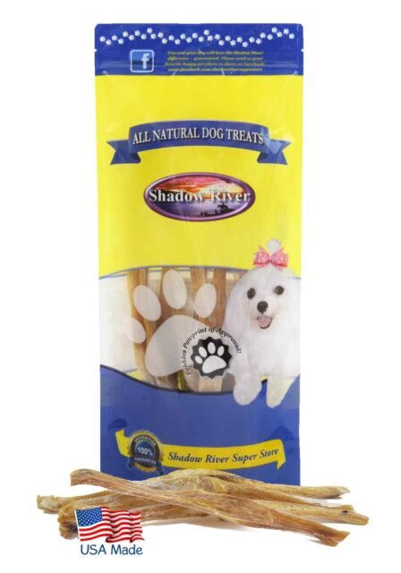 "10 Pk Regular (7-11"") Shadow River USA Beef Achilles Tendons Dog Puppy Treats"