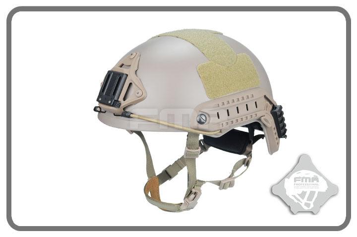FMA Ballistic Helmet With 1 1 Predecting Pat (L Size DE) TB1010-DE-L