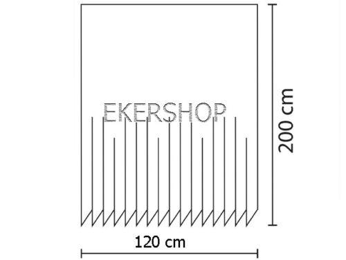 Digitaldruck Textil Duschvorhang 120x200 cm BIG BEN LONDON Wannenvorhang Ringe