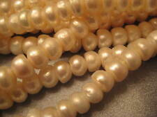 Freshwater Pearl Button Beads 52pcs