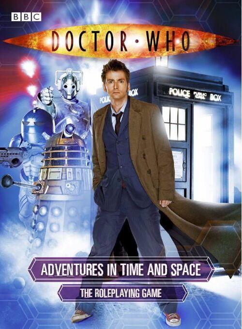 Doctor Who aventuras en el tiempo y el espacio espacio espacio RPG-David Tennant-cabina 7  el mas reciente