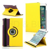 360 Rotating PU Leather Ultra Smart Case Cover Stand For Apple iPad Air