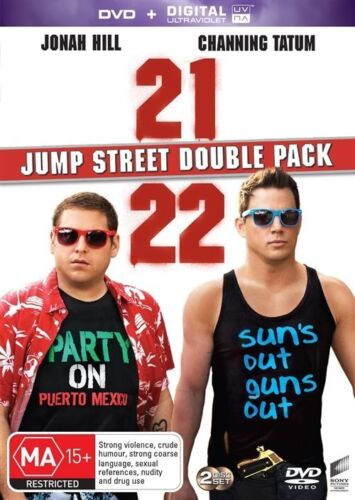 1 of 1 - 21 Jump Street / 22 Jump Street DVD NEW R4 *2 Movie Collection*