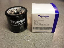 GENUINE TRIUMPH Speed Triple / Sprint ST 1050 ~ OIL FILTER with SUMP PLUG WASHER