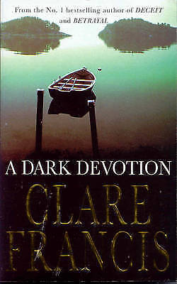 """""""AS NEW"""" Francis, Clare, A Dark Devotion, Paperback Book"""