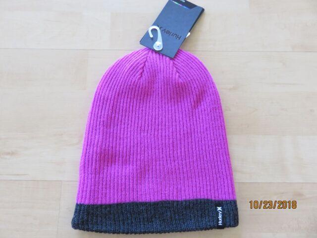NWT NIKE GIRLS BEANIE HAT CAP~YOUTH REVERSIBLE SKI CAP~BLUE /& PINK~THERMA-FIT