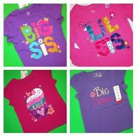 Big Little Sister Shirts 18-24 Month 2t 3t 4t 4 5-6 7-8 10-12 14 Gift School