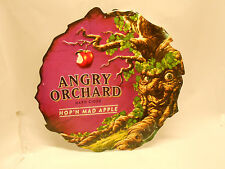 ANGRY ORCHARD Hard Cider Metal Beer Sign Tin Man Cave Decor