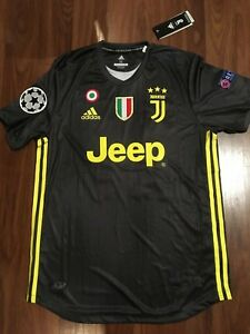 best service cde27 430b3 Details about Juventus 2018/19 Away Cristiano Ronaldo #7 Jersey size S  Small Champions League