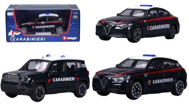 Mac Due Bburago Auto Carabinieri Modellino in Scala 1:43 Modelli assortiti