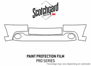 3M Pro Shield Paint Protection Kit for Toyota Tundra 2003-2006 - Bumper PPF