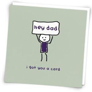 Hey Dad I Got You A Card, Birthday Card By Redback