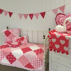 Details About Shabby Chic S Baby Scarlet Cot Quilt Fl Patchwork Nursery Crib Blanket