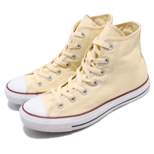657d5a8a5cab Converse Chuck Taylor All Star Hi Top Yellow White Men Classic Shoes M9162C