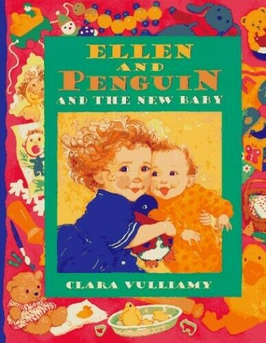 Ellen and Penguin and the New Baby by Vulliamy, Clara Book The Fast Free