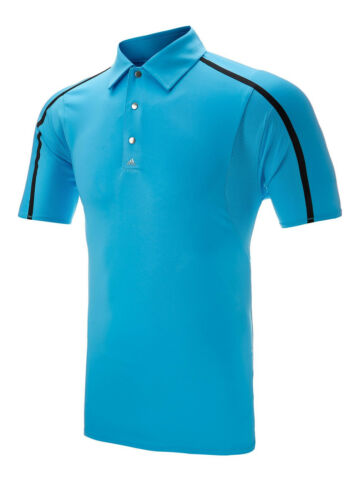 Adidas Puremotion Polo shirt SIZE LARGE colour Aqua Blue